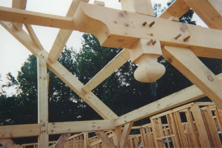 Tfdesign Fasteners In Timber Frame Joinery Dowels Pegs